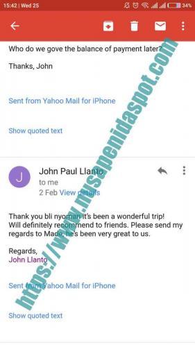 2D1N John Paul